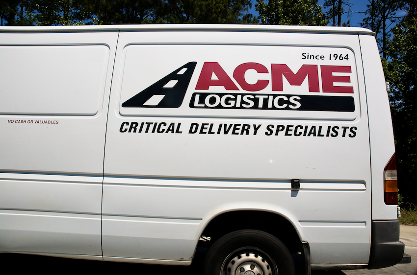 Acme Logistics, delivering something critical...