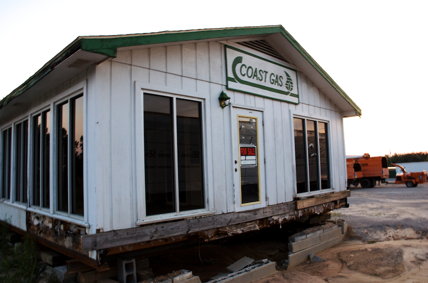 If you ever want to start a gas station, this one's for sale