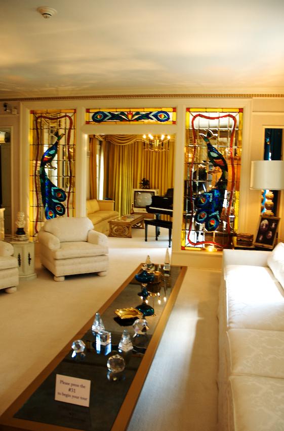 Elvis's livingroom