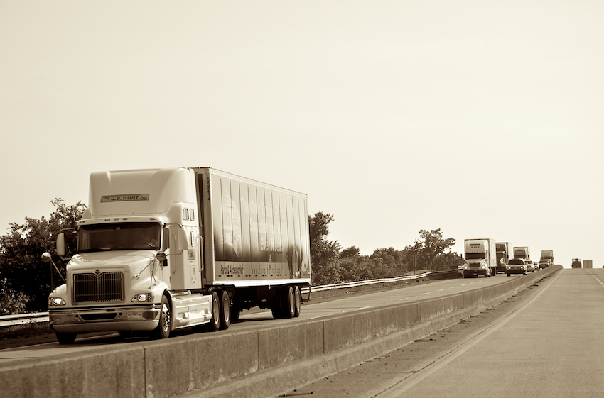 Trucks everywhere